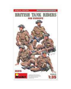 Miniart 35312 British Tank Riders NW Europe Special Edition (Special Edition) 1:35 Plastic Model Kit