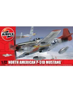 Airfix A01004 North American P-51D Mustang 1:72 Plastic Model Kit