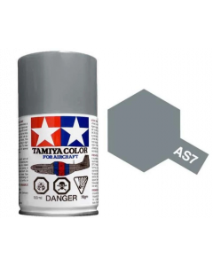 Tamiya AS-7 Neutral Gray (USAAF) 100ml Spray Paint for Scale Models - 86507