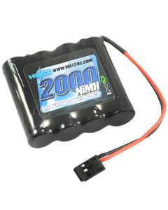 Voltz Rx 4.8V 2000Mah Nimh Straight Battery Pack W/Connector - VZ0150