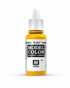 Vallejo Model Color - Transparent Yellow  - 70.937