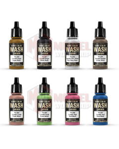 Vallejo Game Colour Washes - Choose Your Colour
